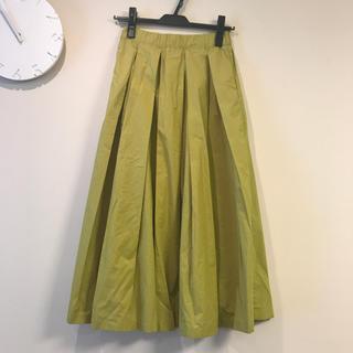 ティティベイト(titivate)の【美品】ライトグリーン スカート(ロングスカート)