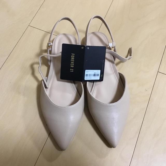FOREVER 21(フォーエバートゥエンティーワン)のFOREVER21 ぺたんこパンプス レディースの靴/シューズ(ハイヒール/パンプス)の商品写真