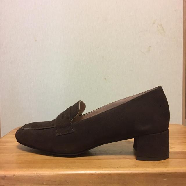 AU BANNISTER(オゥバニスター)のスエード ローファー レディースの靴/シューズ(ローファー/革靴)の商品写真