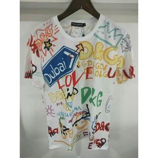 ドルチェアンドガッバーナ(DOLCE&GABBANA)のDOLCE&GABBANA シャツ Tシャツ 男女(Tシャツ/カットソー(半袖/袖なし))