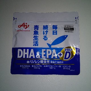 味の素 - DHA&EPA+ビタミンD 120粒 味の素