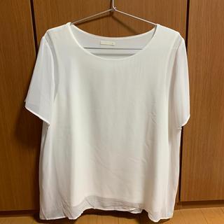 ジーユー(GU)のGU 半袖ブラウス(シャツ/ブラウス(半袖/袖なし))