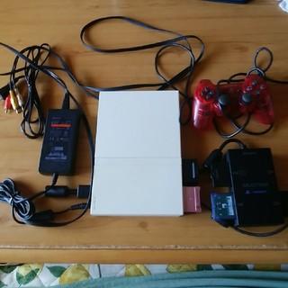 PlayStation2 - PS2一式 コントローラー メモリーカード4枚