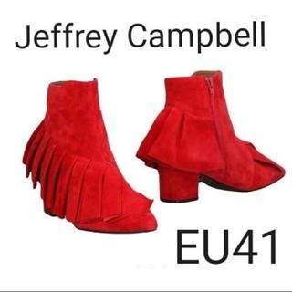 ジェフリーキャンベル(JEFFREY CAMPBELL)の新品未使用★入手困難 Jeffrey Campbell EU41(約26cm)(ブーツ)