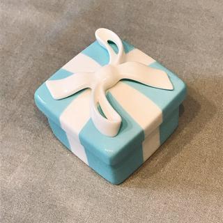 ティファニー(Tiffany & Co.)のティファニーミニブルーボウボックス(食器)
