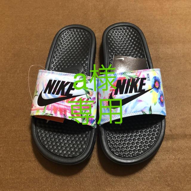 NIKE(ナイキ)のNIKE ナイキ サンダル 花柄 25 レディースの靴/シューズ(サンダル)の商品写真
