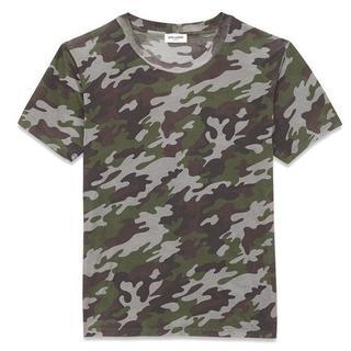サンローラン(Saint Laurent)の★大特価★ SAINT LAURENT サンローラン カモフラ Tシャツ(Tシャツ/カットソー(半袖/袖なし))