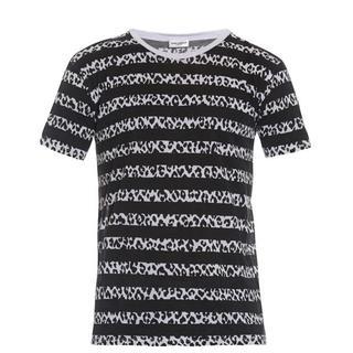 サンローラン(Saint Laurent)の★大特価★ SAINT LAURENT サンローラン プリント Tシャツ(Tシャツ/カットソー(半袖/袖なし))