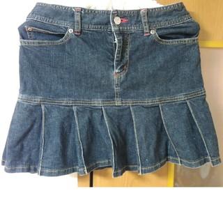バービー(Barbie)のバービー Barbie デニムスカート 黒(ミニスカート)
