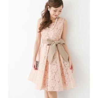 ロッソ(ROSSO)のROSSO レースボンディングドレス (ミディアムドレス)