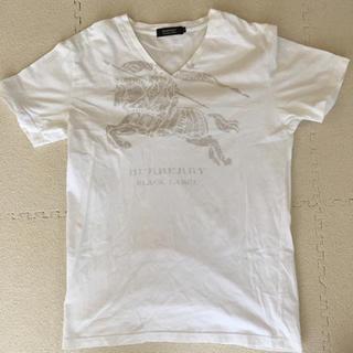 バーバリーブラックレーベル(BURBERRY BLACK LABEL)のバーバリー ブラックレーベル 半袖Tシャツ サイズ2(Tシャツ/カットソー(半袖/袖なし))