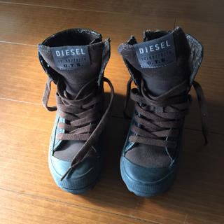 ディーゼル(DIESEL)のディーゼル ブーツ トレッキングシューズ 登山靴(スニーカー)