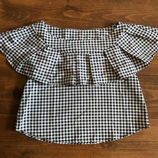 グレイル(GRL)のグレイル オフショルトップス GRL(シャツ/ブラウス(半袖/袖なし))