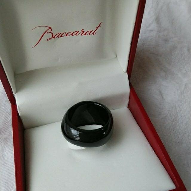 Baccarat(バカラ)のBaccarat リング 黒 レディースのアクセサリー(リング(指輪))の商品写真