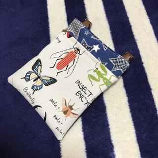 専用☆*°移動ポケット☆昆虫図鑑♡ブラウン クリップ付き(外出用品)