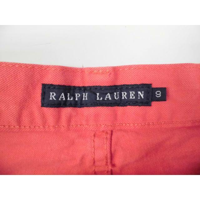 Ralph Lauren(ラルフローレン)の2600 RALPH LAUREN コットンカラーパンツ サイズ9 レディースのパンツ(カジュアルパンツ)の商品写真