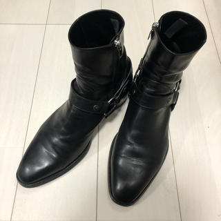 Saint Laurent - paris saint laurent サンローラン 16ss リングブーツ