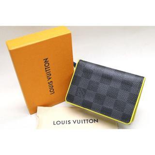 ルイヴィトン(LOUIS VUITTON)のノンタン様専用 ルイヴィトン ドゥポッシュ ダミエグラフィット N63255 (名刺入れ/定期入れ)