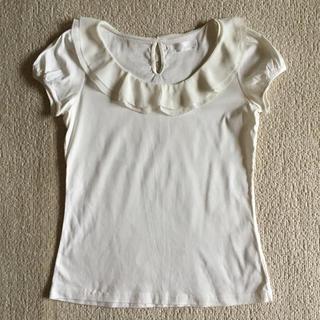クリアインプレッション(CLEAR IMPRESSION)のフリルカットソー(カットソー(半袖/袖なし))
