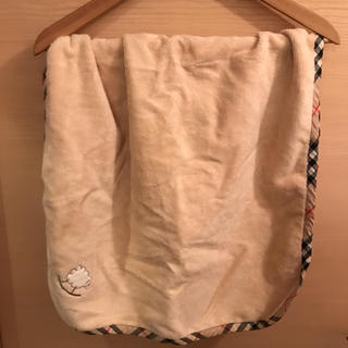 バーバリー(BURBERRY)のバーバリー Burberry ブランケット ベビー 膝掛け 毛布 美品 おくるみ(おくるみ/ブランケット)