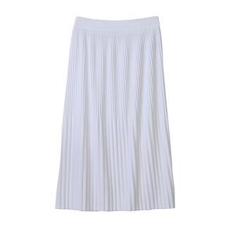 ズッカ(ZUCCa)のズッカ / PEスムース プリーツスカート(ロングスカート)