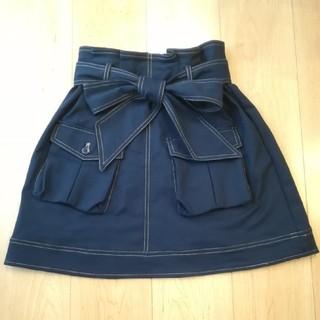 ダズリン(dazzlin)の♡♡ダズリン ネイビースカート♡♡(ミニスカート)