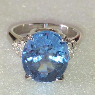 ブルーサファイア リング 指輪 シルバー925(リング(指輪))