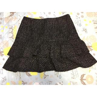 ハニーズ(HONEYS)のフリルスカート(ひざ丈スカート)