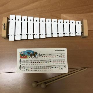 ボーネルンド(BorneLund)の美品 goldo社 メタロフォン 鉄琴(楽器のおもちゃ)