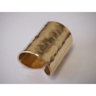 シンプルBrass(真鍮)リング【超幅広】(リング(指輪))