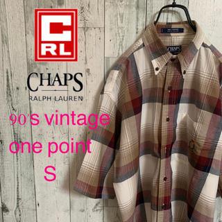 チャップス(CHAPS)の90's  CHAPS チャップス 旧タグ ヴィンテージ チェック シャツ 希少(シャツ)