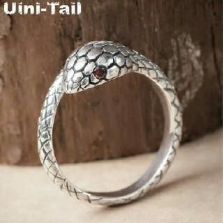 蛇 シルバーリング #3(リング(指輪))