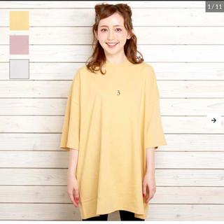 韓国ファッション ビックTシャツ(Tシャツ(半袖/袖なし))