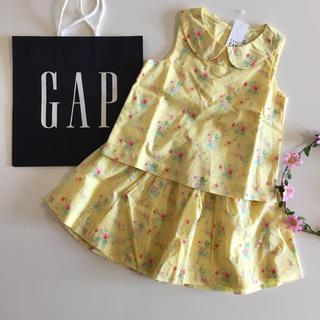 ベビーギャップ(babyGAP)の新品♡今季♡baby gap♡セットアップ 花柄/ラルフローレン ユニクロ 他(ワンピース)