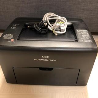 エヌイーシー(NEC)のNEC MultiWriter 5600C レーザープリンター(PC周辺機器)