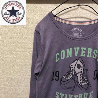 コンバース(CONVERSE)のconverse コンバース 七分袖 ビッグロゴ(Tシャツ(長袖/七分))