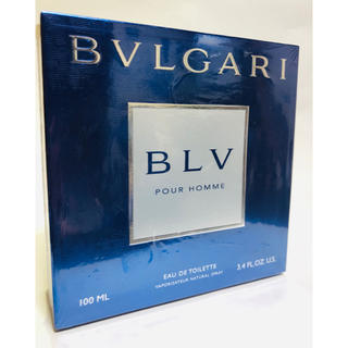 BVLGARI - 【新品未開封】ブルガリ ブルー プールオム 100ml