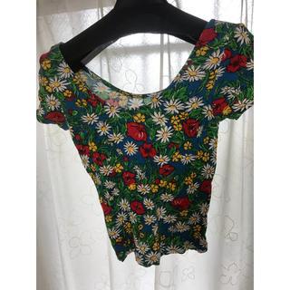 スライ(SLY)の【SLY】花柄Tシャツ(Tシャツ(半袖/袖なし))