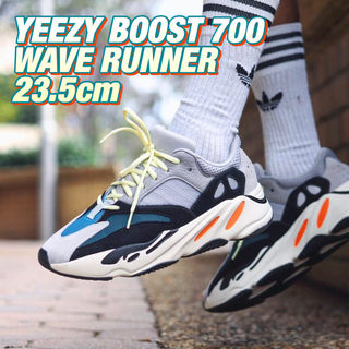 アディダス(adidas)の【23.5】adidas YEEZY BOOST 700 WAVE RUNNER(スニーカー)