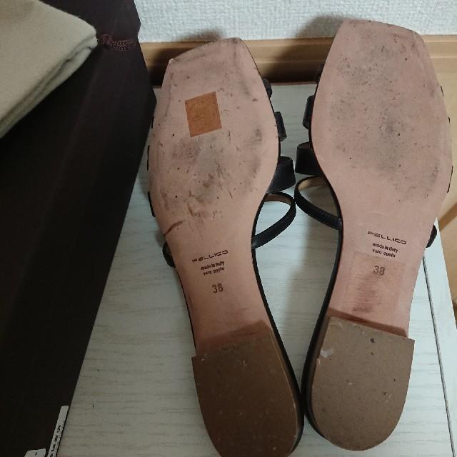 PELLICO(ペリーコ)のペリーコ PELLICO フラットサンダル レディースの靴/シューズ(サンダル)の商品写真