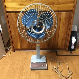 ミツビシデンキ(三菱電機)の三菱 mitsubishi 扇風機 30cm レトロ アンティーク(扇風機)