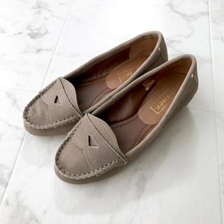 定価15,000円 モカシン ローファー 24〜24.5cm(ローファー/革靴)