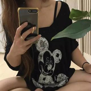ローズバッド(ROSE BUD)のローレンモシ オーバーサイズ チュニック Tシャツ(チュニック)