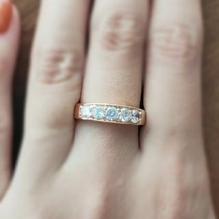 ラウンドエタニティ*モアッサナイトダイヤモンド(リング(指輪))