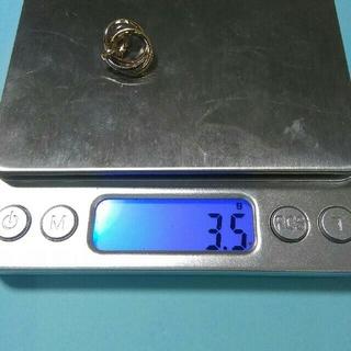 カルティエ(Cartier)のカルティエのネックレストップ k18yg.k18wg.k18pg(750)(ネックレス)