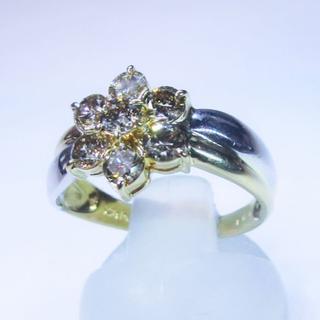 Mary様専用※天然ブラウンダイヤモンド1.00ctデザインリング(リング(指輪))