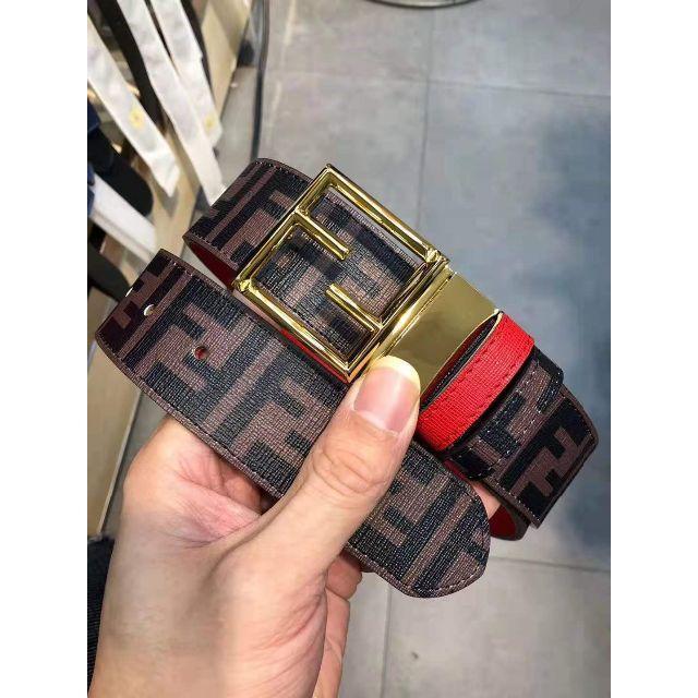 FENDI(フェンディ)のFENDI フェンディ ズッカ 柄 ベルト メンズのファッション小物(ベルト)の商品写真