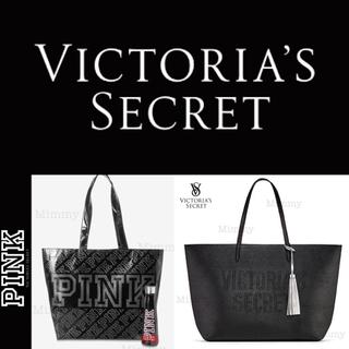 ヴィクトリアズシークレット(Victoria's Secret)のPINK♡ラミネート♡トートバック(トートバッグ)