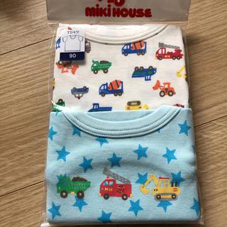 ミキハウス(mikihouse)のミキハウス   下着 半袖Tシャツ 新品未使用(下着)