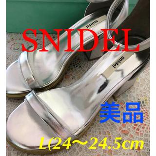 snidel - 【SNIDEL スナイデル/ハイヒール❗️】